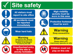Wayfinding + Safety Signs
